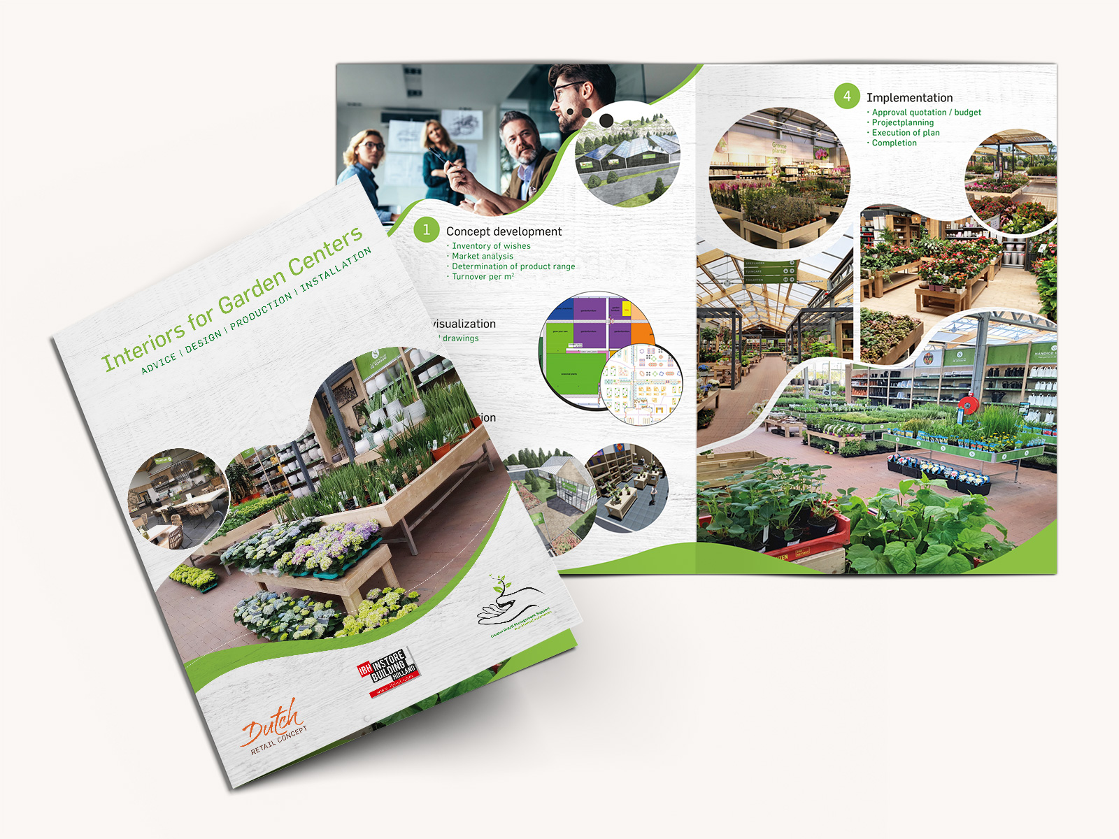 Brochure Interiors for Garden Centers