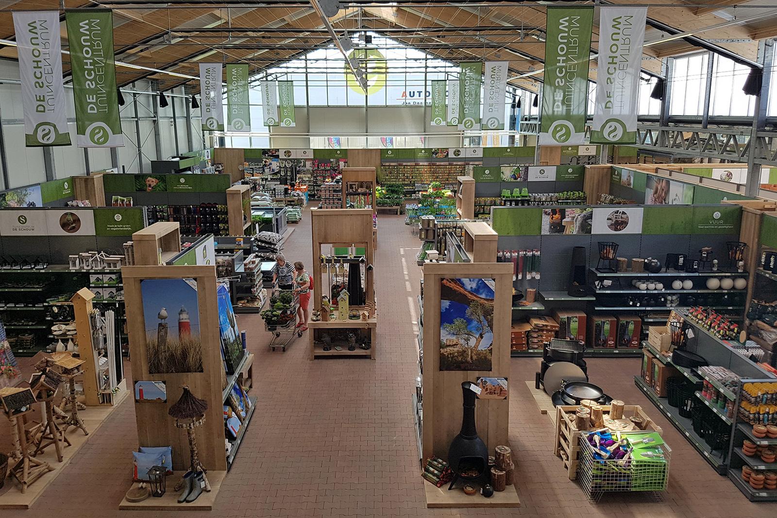 project de Schouw Houten tuincentrum
