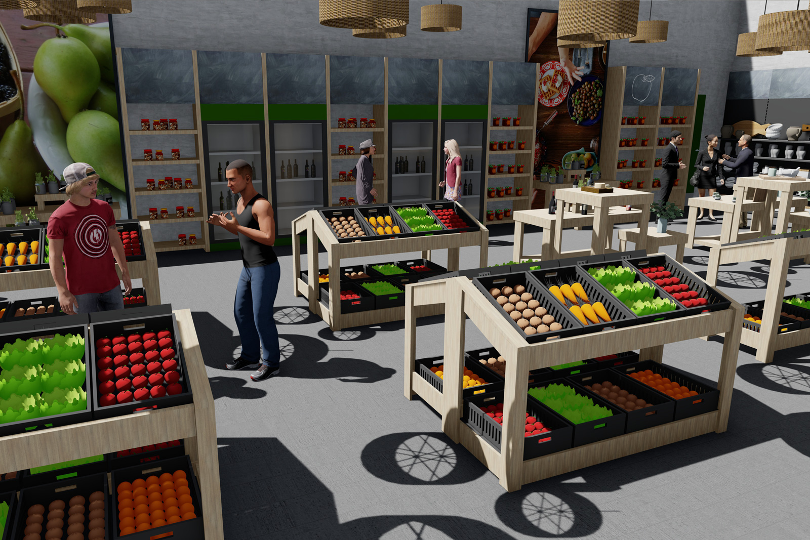 project Roots Tenerife food market